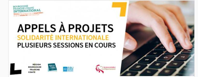 Appels à projets «Solidarité internationale»