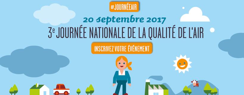 3ème journée nationale de la qualité de l'air