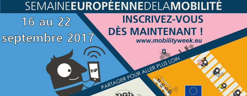 16e édition de la Semaine européenne de la mobilité