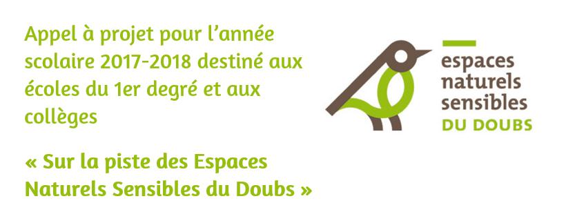 Appel à projet : « Sur la piste des Espaces Naturels Sensibles du Doubs »