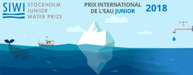 Ouverture des inscriptions pour le Prix international de l'eau Junior 2018