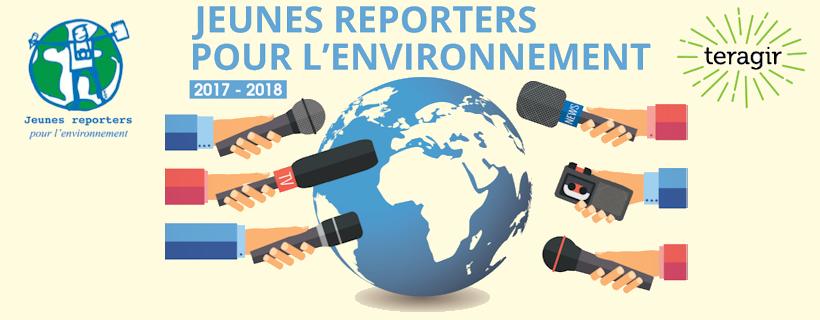 Jeunes Reporters pour l'Environnement 2018