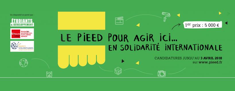 Prix des Initiatives Etudiantes d'Education à la Citoyenneté et à la Solidarité Internationale 2018