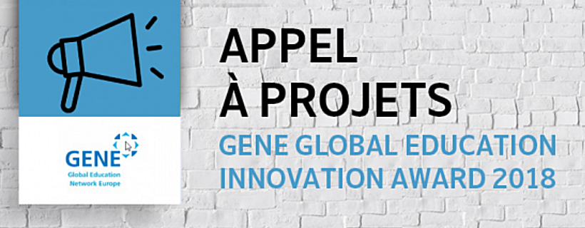 2nde édition du prix GENE Global Education Innovation Award