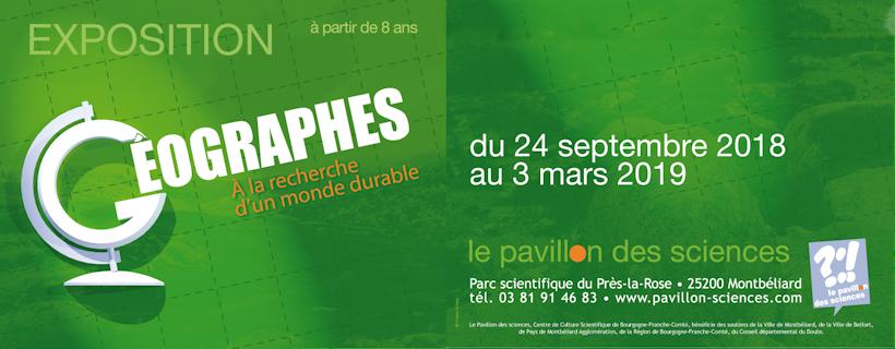 Exposition « Géographes : à la recherche d'un monde durable »