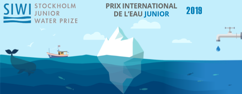 Ouverture des inscriptions pour le Prix international de l'eau Junior 2019
