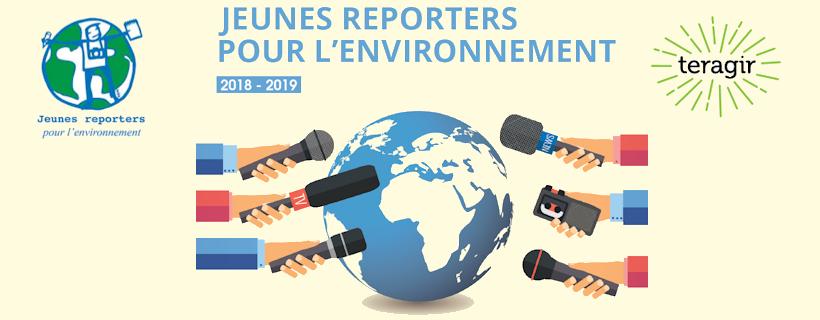Jeunes reporters pour l'environnement 2018-2019
