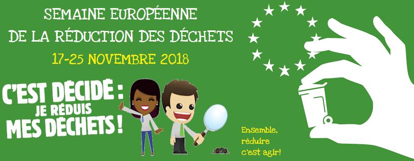 Semaine Européenne de la Réduction des Déchets Edition 2018