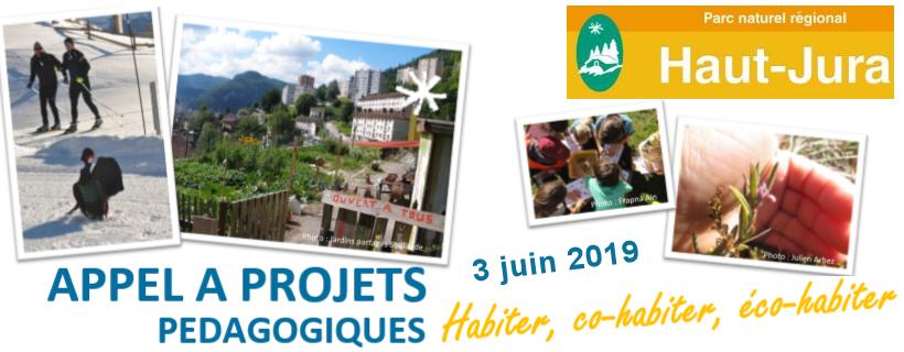 Appel à projet PNR Haut Jura 2019-2020
