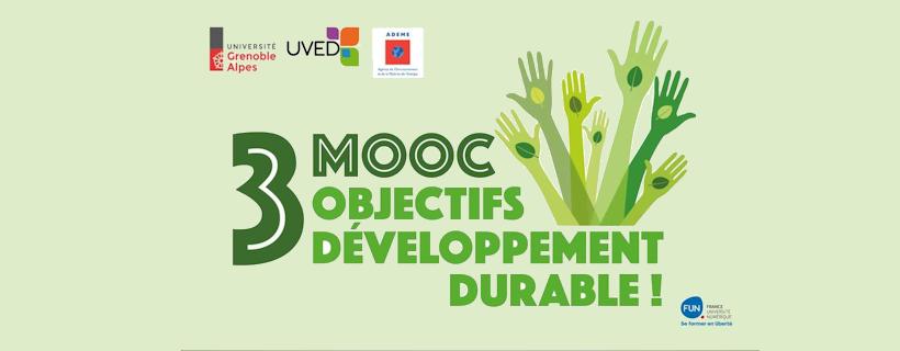 3 MOOC sur les Objectifs du Développement Durable