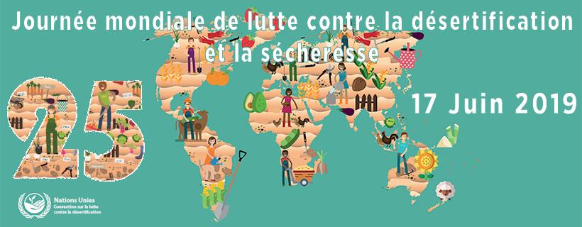 Journée mondiale de lutte contre la désertification et la sécheresse 2019