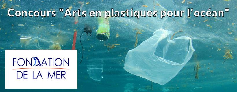 Concours « Arts en plastiques pour l'océan »