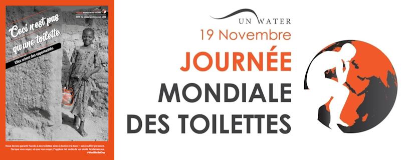 Journée mondiale des toilettes 2019