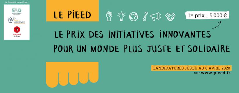 Prix des Initiatives Etudiantes d'Education à la Citoyenneté et à la Solidarité Internationale 2020