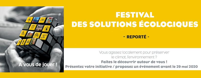 Festival des solutions écologiques reporté