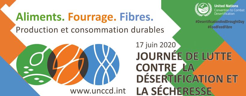 Journée mondiale de lutte contre la désertification et la sécheresse 2020