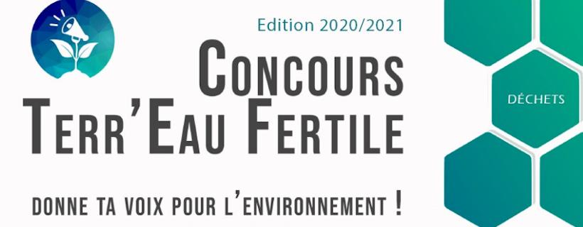 Concours Terr'Eau Fertile – Edition 2020-2021