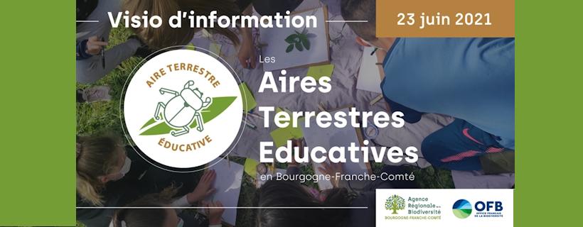 Visio d'information sur les Aires Terrestres Educatives (ATE) en Bourgogne Franche-Comté