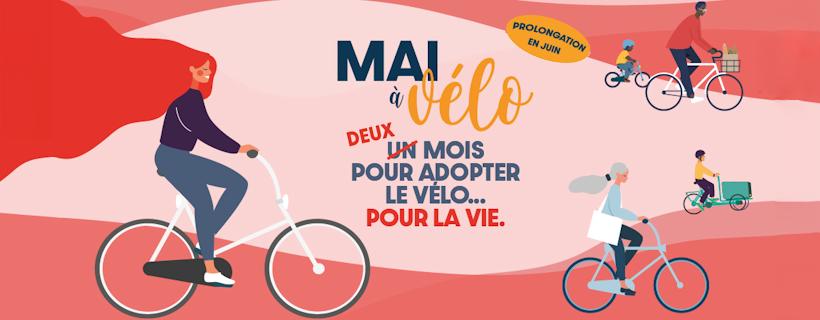 L'opération « Mai en vélo » prolongé durant le mois de Juin !